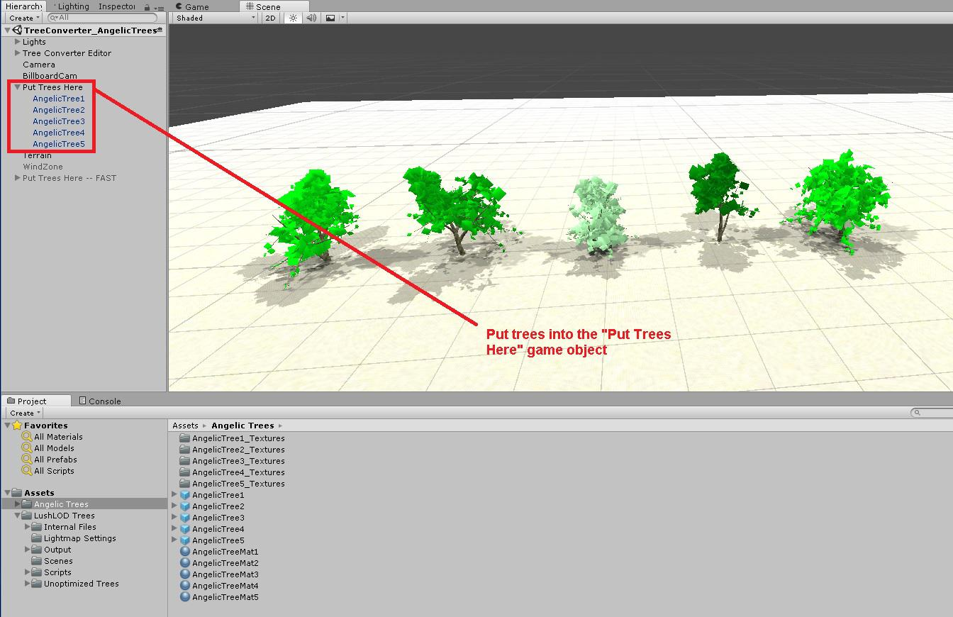 Tree Converter Tutorial / Knowledge base / LushLOD Trees